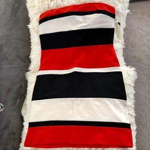 NWT Petticoat Alley strapless dress Sz L
